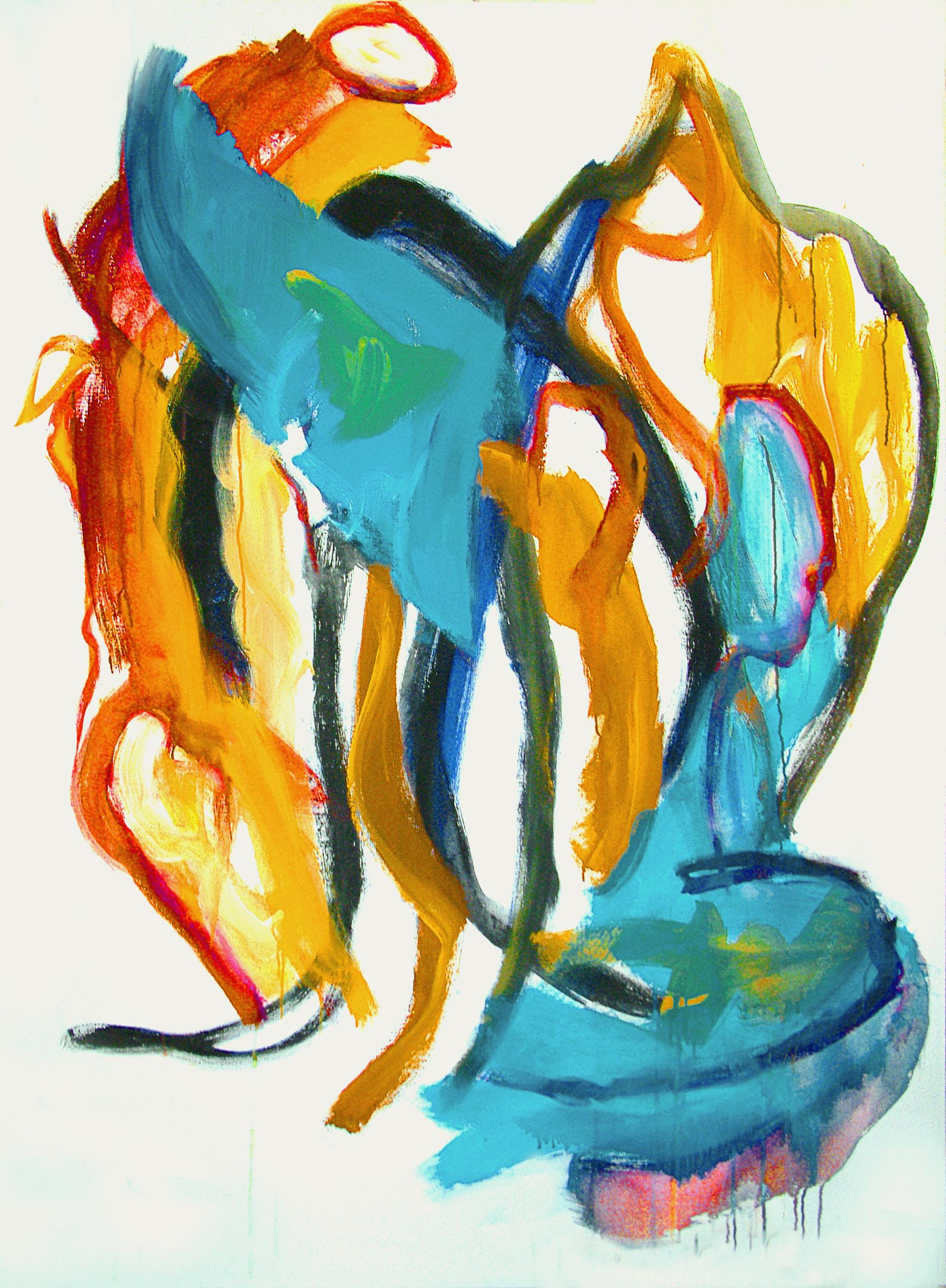 Fons heijnsbroek abstracte moderne kunst 39 an angel 39 s for Large art for sale