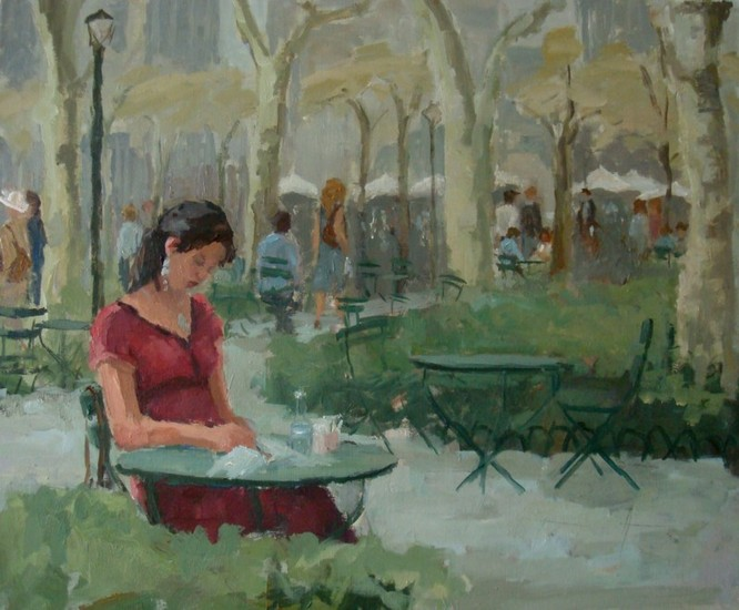 Lunch in Bryant Park