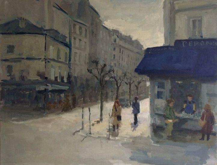 Montmartre, morning sun
