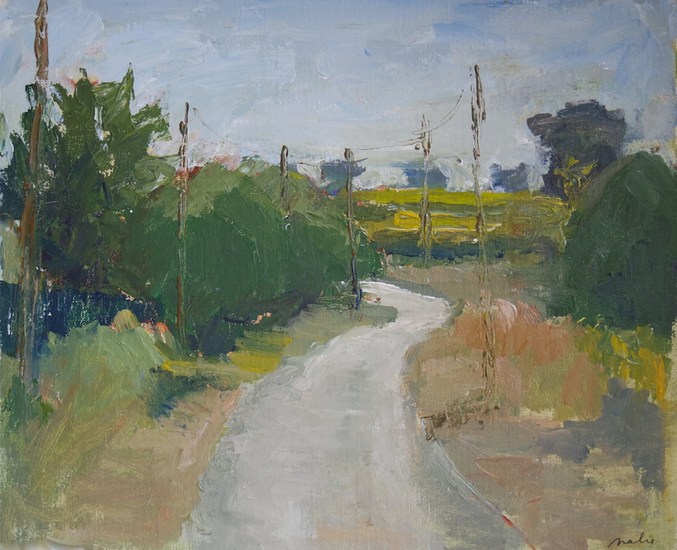 Rural road in the Provence