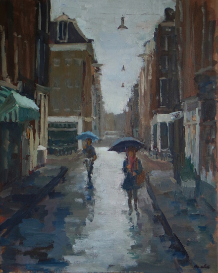 Nine Little Streets, rain
