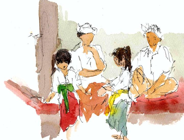 Ceremony in Bali 1