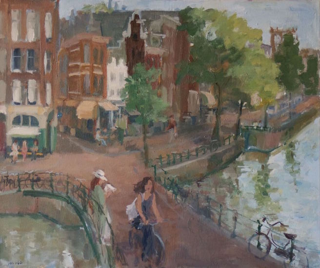 Amsterdam, Canal Bridge