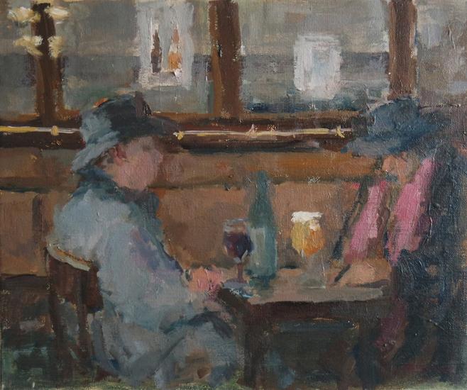 Café in Brussels