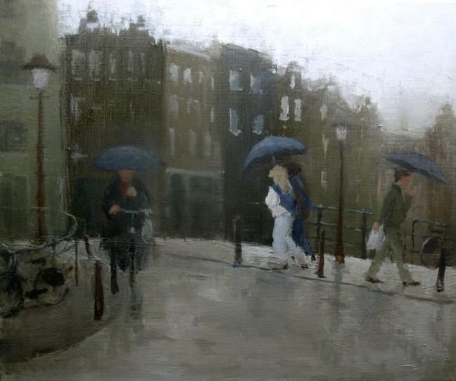 A little bit of rain