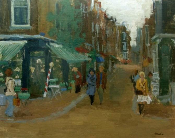 Nine little streets. Antiqueshop Het Runnertje