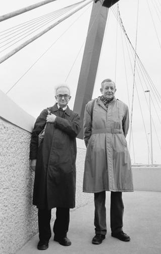 Rotterdam, twee mannen