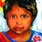 P49 Guatamalaans meisje