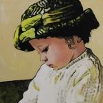 P211 meisje met hoed