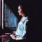 P212 meisje voor raam