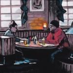 V83 café scene