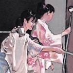 P240 Japanse dames