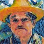 P268 man a la van Gogh