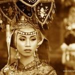 Vrouw uit Lampung Indonesie