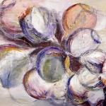 Acryl schilderij 'Bessen'