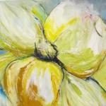 Acryl schilderij 'Voorjaarsbloem'