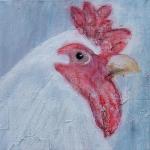 Acryl schilderij 'Moederkloek'