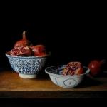 Chinees porselein met granaatappels
