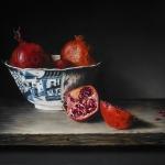 Chinese kom met granaatappels