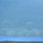 Een wolkendeken boven Zeeland