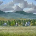 Landschap in New Hampshire