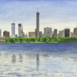 Zon in New York