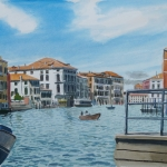 Zon in Venetië