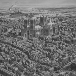 Town in England or The Gothic Cathedral