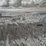 Stad in Nederland - Wolken