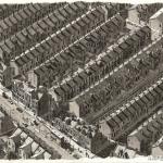 Huizen in Noord Engeland
