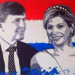 staatsieportret Willem Alexander en Maxima
