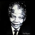 portret Nelson Mandela