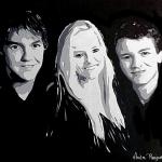 portret 3 kinderen