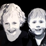 portret 2 broers