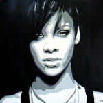 Portret Rihanna