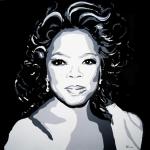 Portret Oprah Winfrey