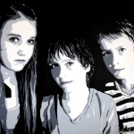 Portret '3 kids'