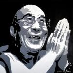 Portret Dalai Lama