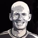 Portret Arjen Robben