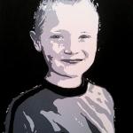 Portret van een kleinzoon