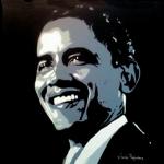 Portret Barack Obama