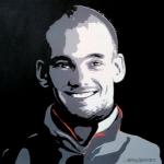 Portret Wesley Sneijder