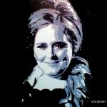 Portret Adele