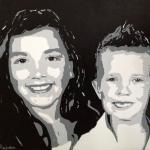 portret Romy en Alessio