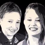 portret 2 kinderen
