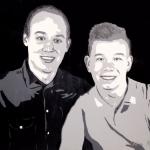 Portret Jeffrey en Rick