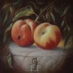 Stilleven met perziken