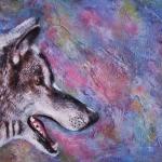 Wolf zijwaarts