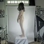 Miya Sato posing