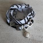 Ibiza armband Zebra